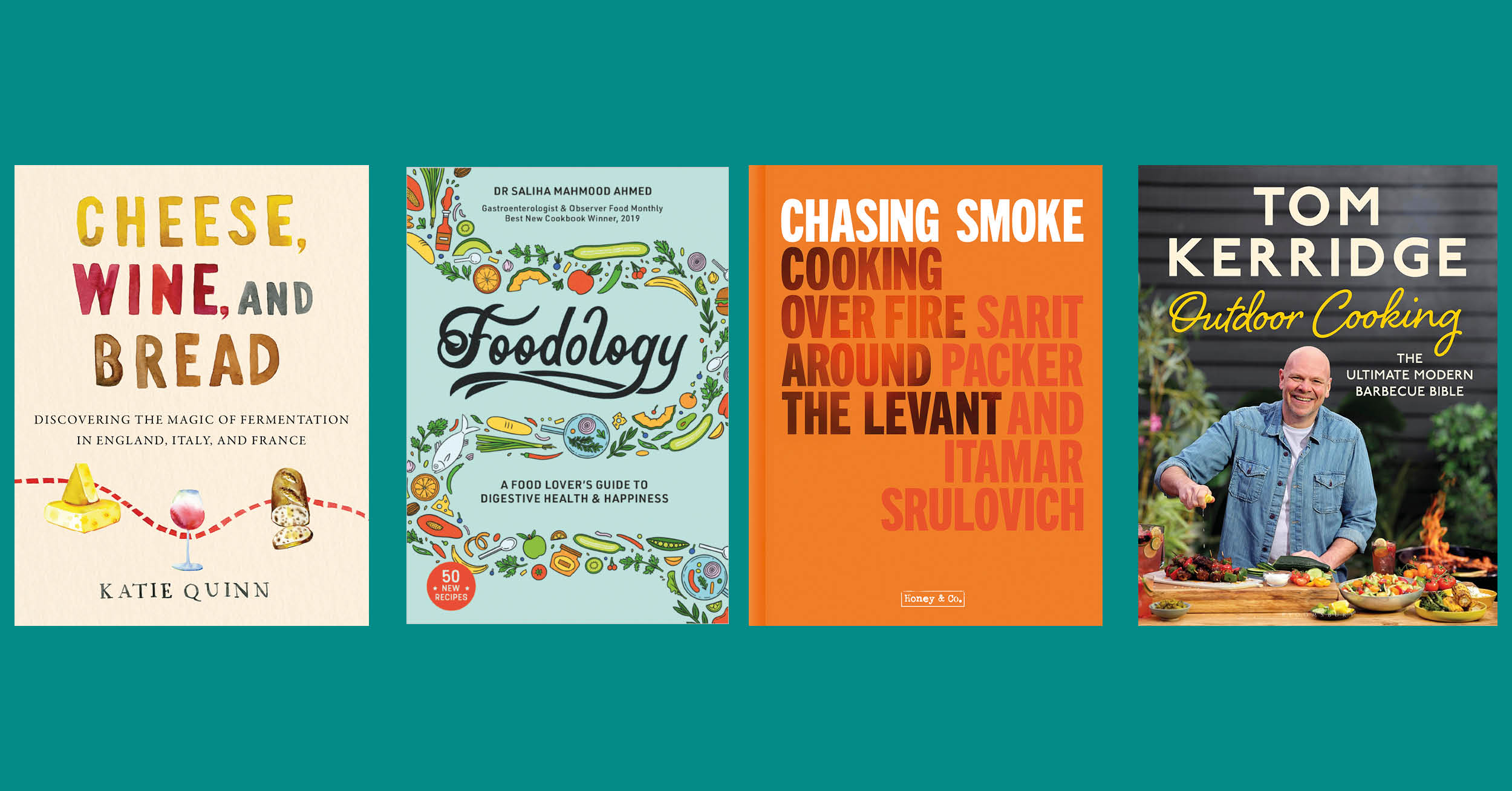 front covers from some of the books